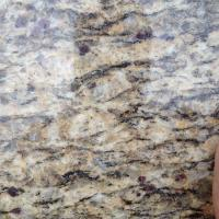 China Polished Santa Cecilia Gold Granite Slabs For Kitchen Counter Top granite tiles on sale