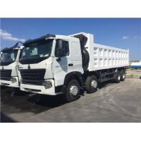 Buy cheap SINOTRUK HOWO A7 8X4 336hp Dump Truck from wholesalers