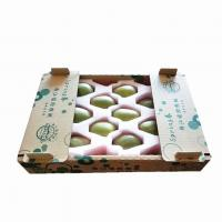 Best Corrugated Carton Box for Fruit Banana Shipping Tray Box for Fresh Fuits and Vegetables wholesale