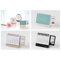 Buy cheap OEM Custom Personalised Calendars Printing Services ,Portable Desk Calendar 2017 China Factory from wholesalers