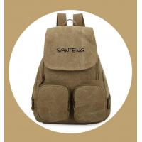 Best Popular Waxed Canvas Backpack for Girls, Fashionable Casual Gear Backpack Factory Price wholesale