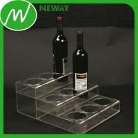 Buy cheap Plastic Gear Customized Freestanding Acrylic Bottle Display from wholesalers
