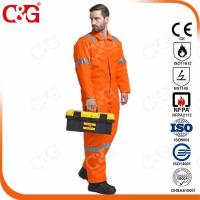 Best Nomex IIIA Flame Resistant Clothing Nomex FR Coverall with Reflective Tapes wholesale