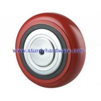 Buy cheap Polyurethane on Cast Iron Wheels with Metal Cover from wholesalers