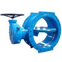 Best Flange type double eccentric rubber seal butterfly valve wholesale