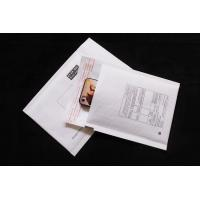 White kraft paper bubble envelope
