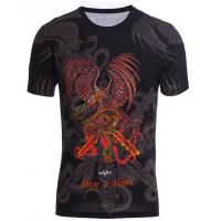 China Fashion t shirt designs 100% Cotton Cheap Men T-shirt on sale