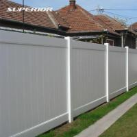 China PVC Privacy Fences on sale