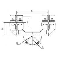 Best Substation Fitting MGC(S) Bus-bar Support(two fulcrums) wholesale