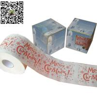 China Merry Christmas Toilet Paper on sale