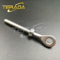 Stainless Steel Wire Rope Threaded Swage Plate Eye Terminal Fittings