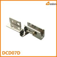 China Full overlay side mount glass door hinge DCD07D Cabinet hinge on sale