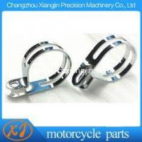 """Best speedway motorcycle parts Steel Chromed 50mm Bend Clamp Silver Chromed Speedway """" P """" Clamp wholesale"""
