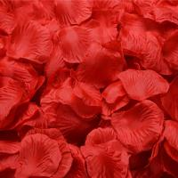 China Lgterat 2000pcs Artificial Silk Rose Petals for Wedding Decoration,Random Color on sale
