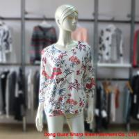 China Women Casual Sweater In Floral Print RT027 on sale