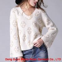 Buy cheap Loose pattern knitted pullover 1708043 from wholesalers
