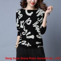 Buy cheap Letter printing ladies sweater 1708046 from wholesalers
