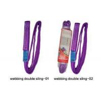 China Slings Polyester Webbing Double Ply Endless Flat Sling on sale