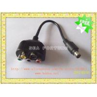 Best New Adapter HDTV 9 Pin to 4 Pin S-Video RCA RGB Video Cable, Drop Shipping wholesale