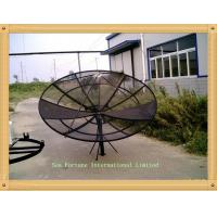 China 4m 13.33ft mesh polar Prime Focus C band dish Antenna satelite TV antenna on sale