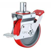 Buy cheap LFC J200-Y TOTAL BRAKE SCAFFOLDING PLASTER CASTER - ROUND STEM WHEEL from wholesalers