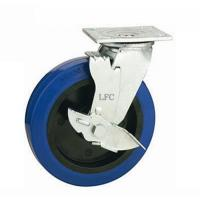 China LFC H800BP HEAVY DUTY INDUSTRIAL CASTOR WHEEL WITH SIDE BRAKE on sale