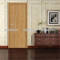 Buy cheap Fashion WPC New Material Waterproof Eco-Friendly Bathroom Bedroom PVC Wrapping Door from wholesalers