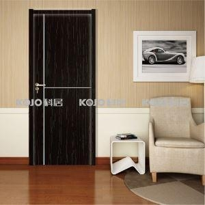 China Eco-Friendly Fire-resistant Door Waterproof WPC Interior PVC Laminated Door with Sound Insulation