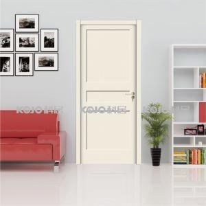 China Anti-Termite Fire-Resistant WPC Painting Door for Toilet Bedroom Kitchen