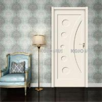 Best Eco-Friendly Fire-resistant WPC Interior Decorative Double Leaf Door wholesale