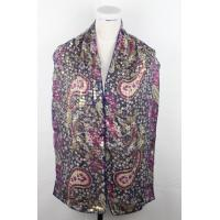 China silk scarf series double silk and beads on sale