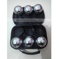 Buy cheap YTP-016 73MM metal boules set petanque set from wholesalers