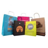 Bags Twisted Paper Handle Carrier Bag 09326
