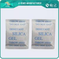 China Non-Poisonous food grade silica gel desiccant on sale