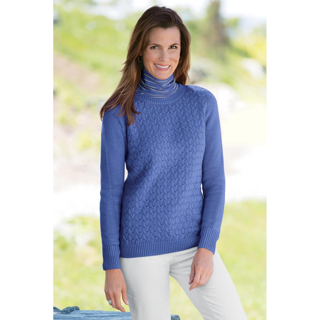 China 47700 Women's cable Knit Sweater on sale
