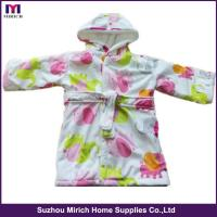 China Factory Hooded Baby Night Robe