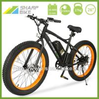 China 26 INCH FAT TIRE ELECTRIC MOUNTAIN BIKE SP26EMB-X on sale
