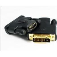 Best Dvi Cable HDMI Female to DVI-D 24+1 Male adapter for LCD HDTV Black deconn wholesale