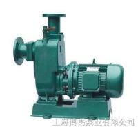 Directly connected self-priming non clogging sewage pump