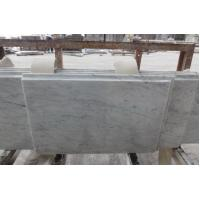 China CountertopsVanity Tops Polished Bianco Carrara Marble Countertops on sale