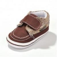 FASHION SNEAKERS Baby Boys' Brown Checkred Sneakers