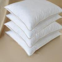 Jasper Premium White Goose Down Pillow with Pillow in Pillow Design Med-Firm Pillows, Set of 2