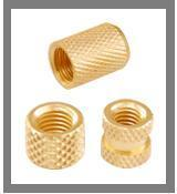 Buy cheap Brass Round Inserts (Diamond Knurled) from wholesalers