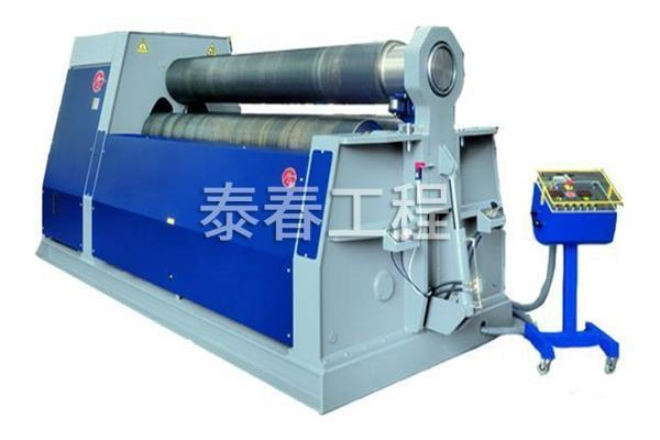 China Mechanical three roller symmetrical bending machine