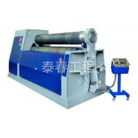 Buy cheap Mechanical three roller symmetrical bending machine from wholesalers