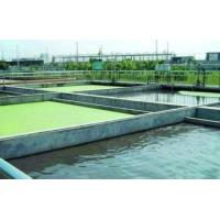 Papermaking wastewater treatment process