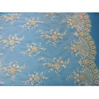 China Bridal Lace Fabric Embroidered Wedding Floral Lace Fabric (W9033) on sale