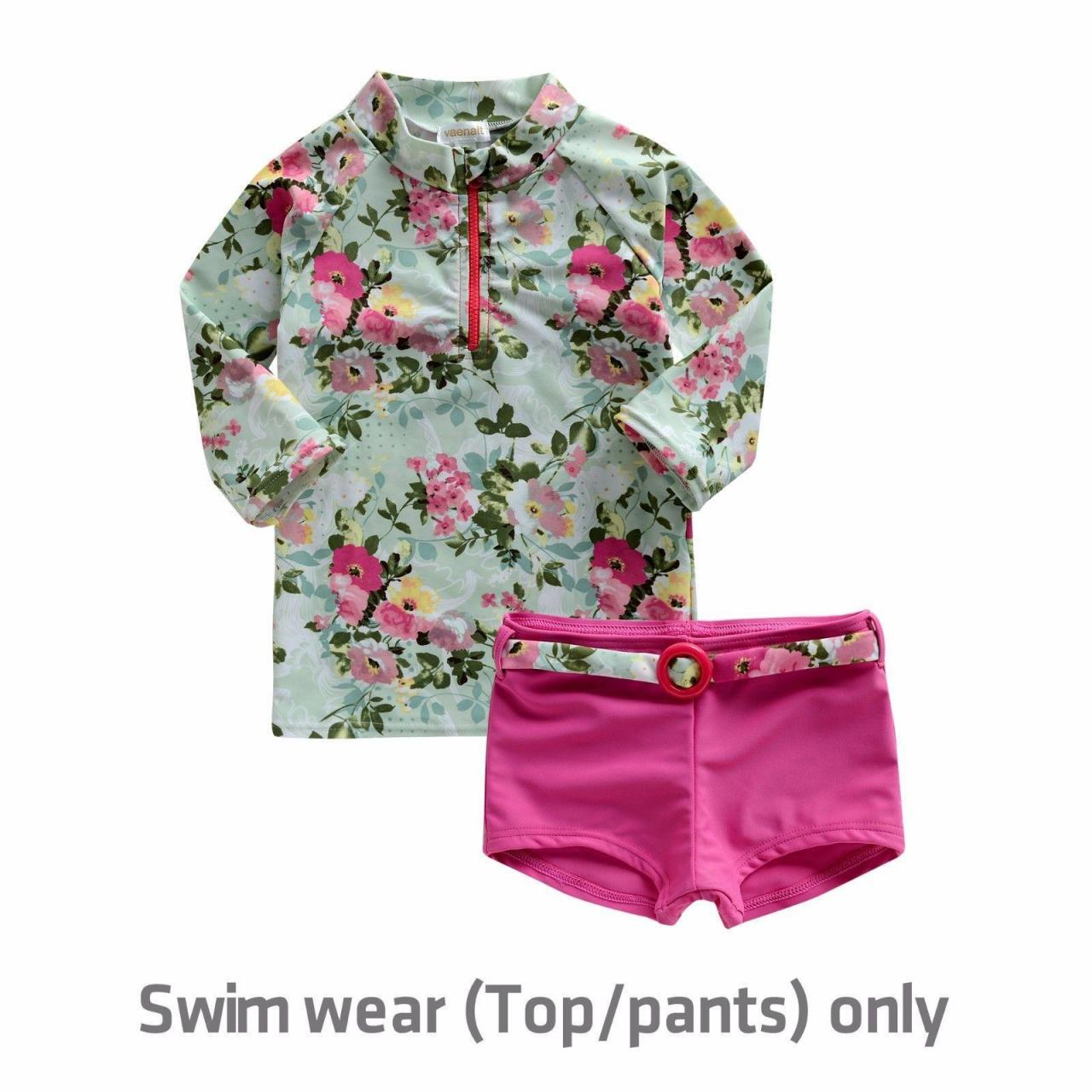 Buy cheap Teatree Hotpink girls rashguard set from wholesalers