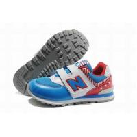 Cheap Kids Kids New Balance American KV574ATI Shoes Blue White Red for sale