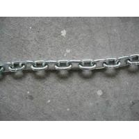 Buy cheap Ordinary Mild Steel Link Chain, Medium Link Chain, Chain, Medium Chain, Galvanized Steel Chain from wholesalers